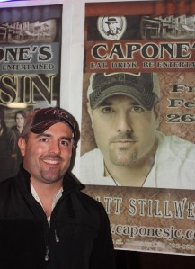 Matt Stillwell heading to Johnson City, Tenn., for April 2 show at Capone's
