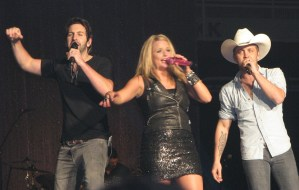 Miranda Lambert, Justin Moore and Josh Kelley, Knoxville, Tenn., show!