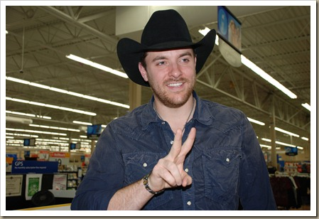 Chris Young Walmart 345