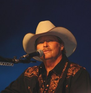 Alan Jackson on the Grand Ole Opry stage