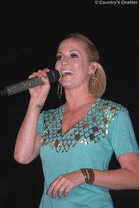 Kellie Pickler on Fun Fest stage in Kingsport