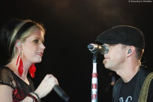 Thompson Square hit the stage for day three of the 2011 Appalachian Fair