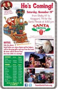 Thompson Square will be the celebrity 'elves' onboard the 2011 Santa Train