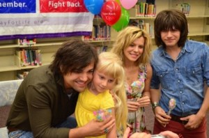 The Band Perry surprise students at Doak Elementary School to raise money for Relay For Life