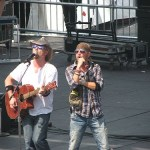 Riverfront Stage offering some awesome talent during CMA Music Festival