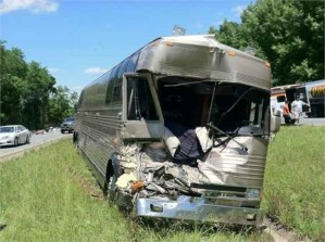 Bucky Covington's bus involved in wreck