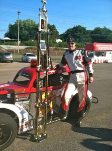 Bucky Covington's first race in Legend's Car huge success raising awareness for Help the Good Guys