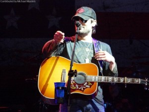 Eric Church takes time for a little rest