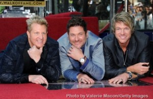 Star on the Hollywood Walk of Fame for Rascal Flatts
