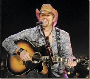 """Toby Keith's new video, """"I Like Girls That Drink Beer"""""""
