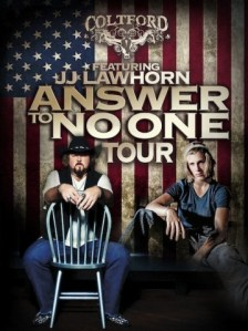 Colt Ford's Answer to No One Tour kicks off tomorrow in Mesa, Ariz.