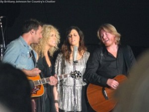 Little Big Town sits on the top of the charts with 'Tornado'