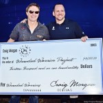 Craig Morgan raises $13,000 for Wounded Warriors Project