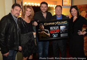 Chris Young Celebrates Sold Out Ryman Show