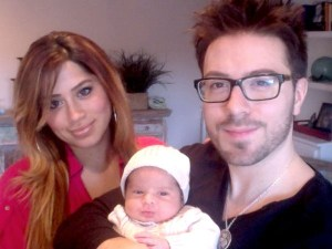 Danny and Leyicet Gokey share their son with the world
