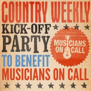 Easton Corbin, Dustin Lynch, Greg Bates, Chris Janson part of Country Weekly kick-off party