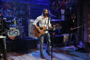 Jake performs new single, Days of Gold, on Late Night with Jimmy Fallon
