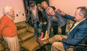 The Oak Ridge Boys celebrate 41st anniversary with President George H.W. Bush