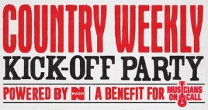 Country Weekly's annual Kick-Off Party June 3, at Hard Rock Cafe