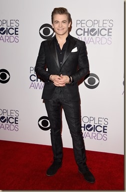 LOS ANGELES, CA - JANUARY 07:  Singer Hunter Hayes poses in the press room at The 41st Annual People's Choice Awards at Nokia Theatre LA Live on January 7, 2015 in Los Angeles, California.  (Photo by Jason Merritt/Getty Images)
