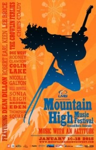 Lee Brice, Thompson Square and Robert Earl Keen to perform at Mountain High Music Festival
