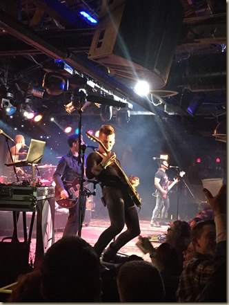 Chase Bryant - Close-Up Stage shot from Joe's Chicago  (2)