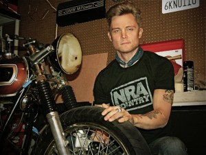 NRA Country taps Frankie Ballard as Featured Artist for February