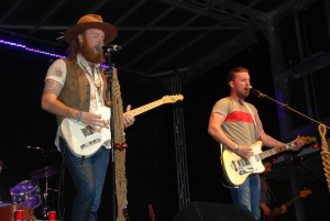 Brothers Osborne heat up the cool Fall air at the Washington County Fair