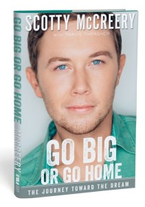 Scotty McCreery's debut book cover released