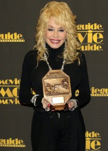 "Dolly Parton honored with Movieguide Most Inspiring TV Program of 2015 for ""Coat of Many Colors"""