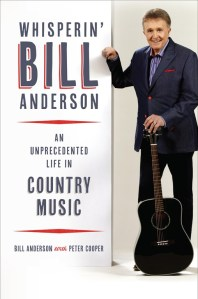 Whisperin' Bill Anderson pens life story in new revealing autobiography