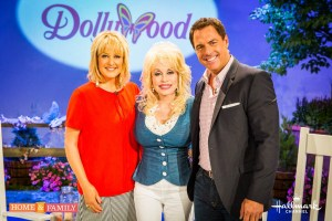 "Hallmark channel's ""Home & Family"" goes to Dollywood with the legendary Dolly Parton"