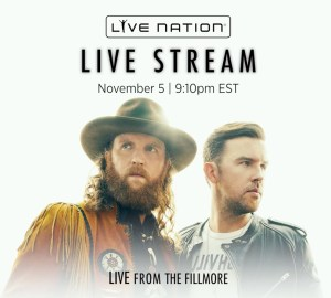 Brothers Osborne to Live Stream weekend concert