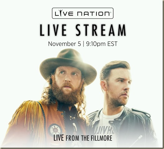 Brothers Osborne to Live Stream weekend concert ...