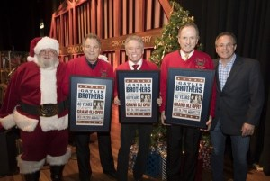 Larry Gatlin & the Gatlin Brothers Celebrate 40 Years as Opry Members