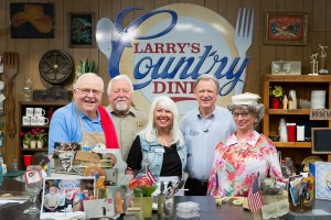 """""""Larry's Country Diner"""" Features Bradley Walker & """"Best Of"""" Episodes Including Bellamy Brothers, Eddy Raven and Rhonda Vincent & The Rage in February"""