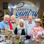 """Larry's Country Diner"" Features Bradley Walker & ""Best Of"" Episodes Including Bellamy Brothers, Eddy Raven and Rhonda Vincent & The Rage in February"