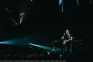 """Eric Church doesn't back down on """"Holdin' My Own Tour"""""""