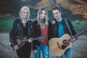 "Country music trio Temecula road premiere music video for first single ""What If I Kissed You"""