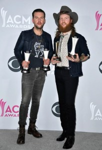 Brothers Osborne join Brooks & Dunn as only duos to win both ACM Vocal Duo of the Year and ACM New Vocal Duo or Group of the Year in the same year