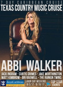 Abbi Walker- Summer Tour and TX Country CRUISE!