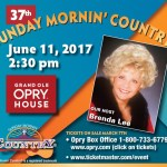 "Reminder: Music City Christian Fellowship's ""Sunday Mornin' Country""® Event Taking Place June 11th!"