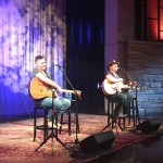 Jerrod Niemann entertains a full house at Country Music Hall of Fame and Museum's weekly songwriter session in Nashville