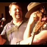"Jerrod Niemann receives birthday surprise from ""Marilyn Monroe"" (a.k.a. wife, Morgan Petek Niemann)"