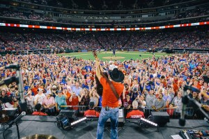 Aaron Watson Hits It Out Of the Park With The Texas Rangers