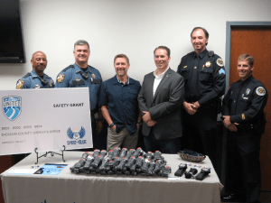 Craig Morgan & Spirit of Blue Foundation Present Safety Equipment Grant to Dickson County Sheriff's Office