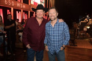 Tracy Lawrence reveals snippet of forthcoming collaboration album with  Craig Morgan duet on The Grand Ole Opry