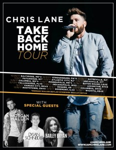 Chris Lane levels up with first-ever headlining tour