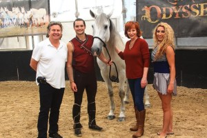 Reba McEntire Goes From Singing Songs to Singing Praises on Odysseo by Cavalia