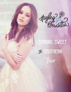 Hayley Orrantia // Strong, Sweet & Southern Tour